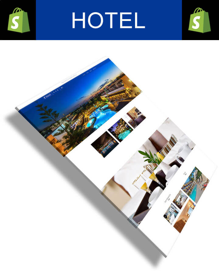 Hotel responsive hotel booking service shopify theme for Tablet hotel booking