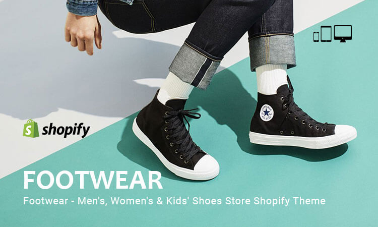 Footwear Men's, Women's & Kid's Shoes Store Responsive Shopify Theme
