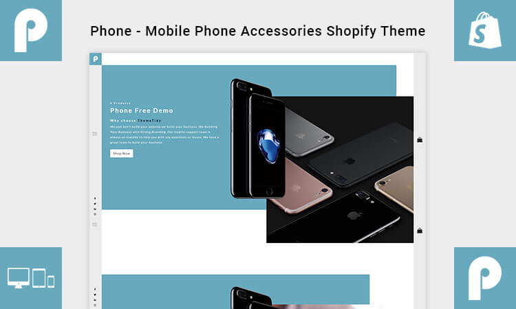 phone mobile phone accessories shopify theme themetidy. Black Bedroom Furniture Sets. Home Design Ideas