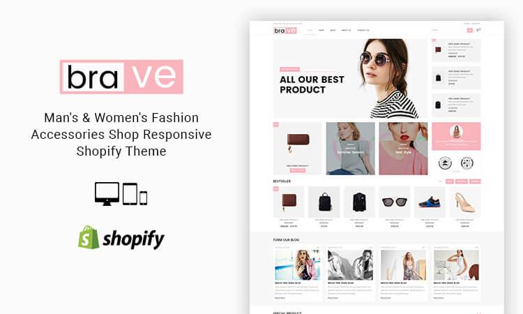 47384fa267c Brave - Man s   Women s Fashion Accessories Shop Responsive Shopify Theme