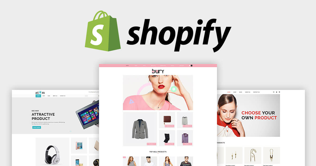 Best premium shopify templates themes for your online for Free shopify templates
