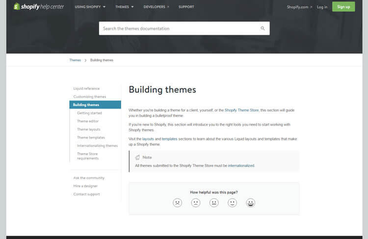 Shopify theme development tutorial to build shopify theme themetidy theme editor pronofoot35fo Image collections