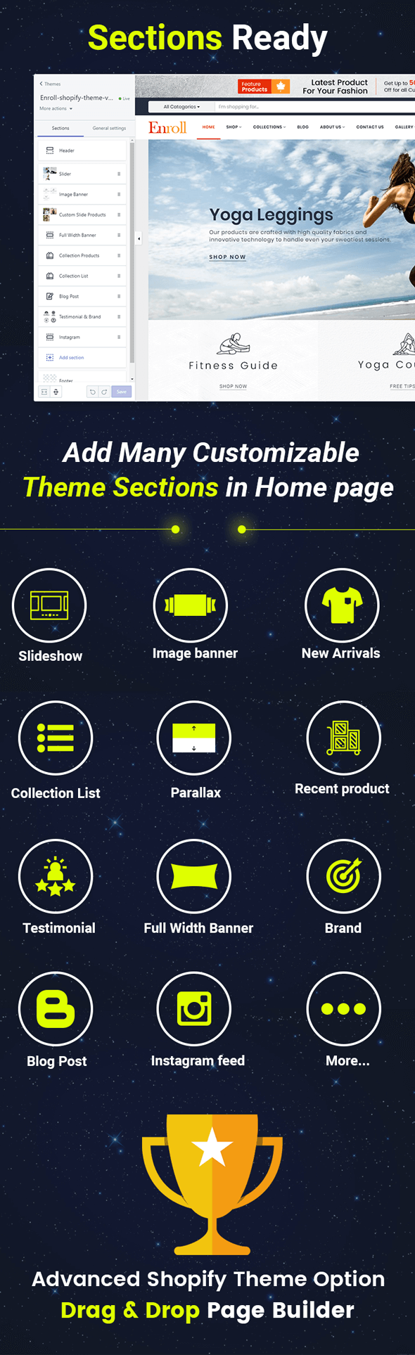 Full Theme Features