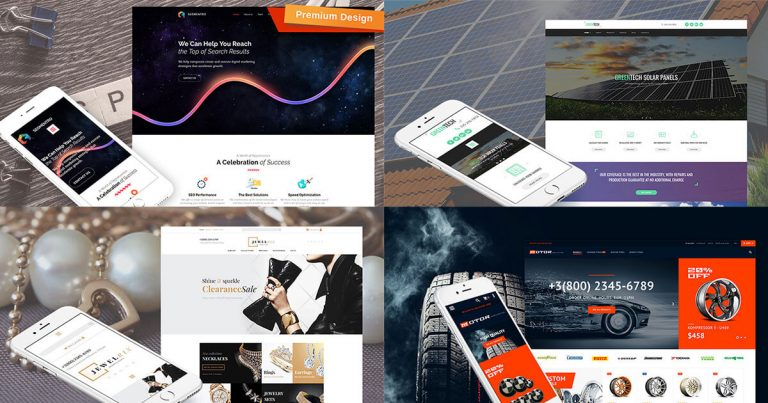 Download Free Premium Modern Motocms Templates For Your Website