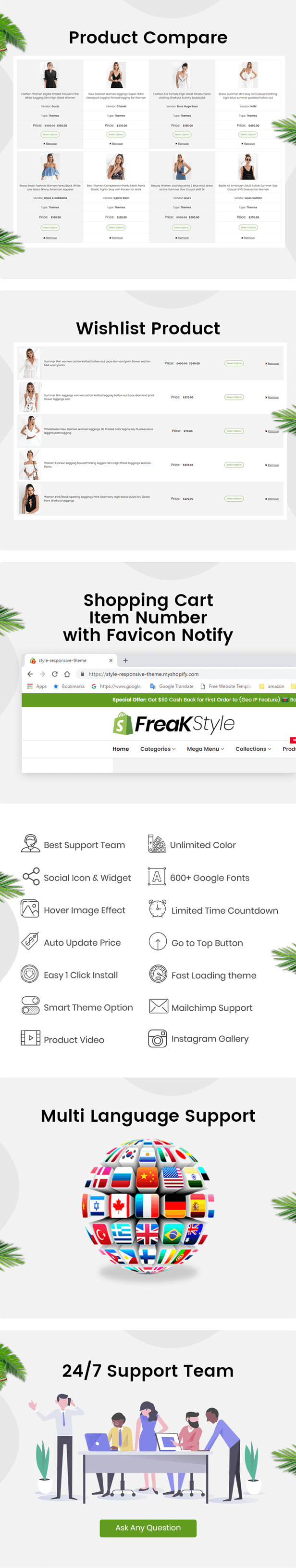 Freak - Multipurpose ECommerce Shopify Theme