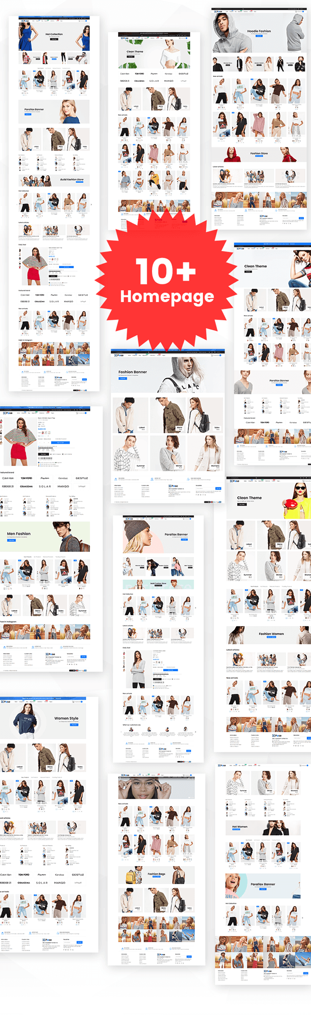Pose - Fashion Shopify Theme Multipurpose Responsive Template